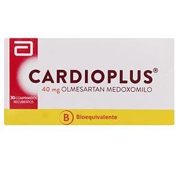 Cardioplus 40 mg 30 comprimidos