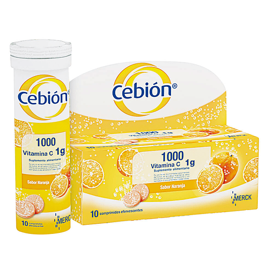 Cebion 1000, 10 comprimidos efervescentes