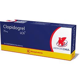Clopidogrel 75 mg 30 Comprimidos