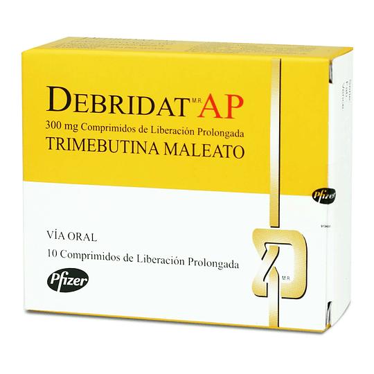 Debridat AP 300 mg 10 comprimidos