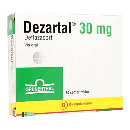 Dezartal 30 mg 20 comprimidos