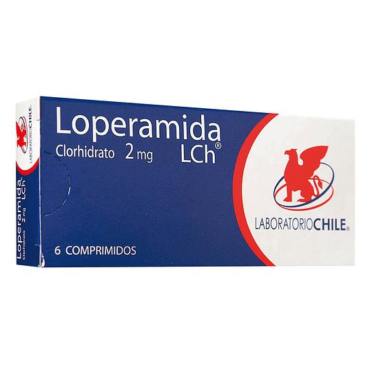 Loperamida 2 mg 6 comprimidos