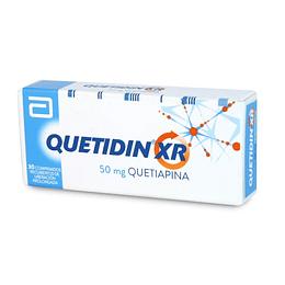 Quetidin XR 50 mg 30 comprimidos.
