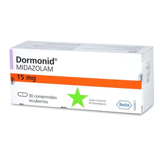 Dormonid 15 mg 30 comprimidos