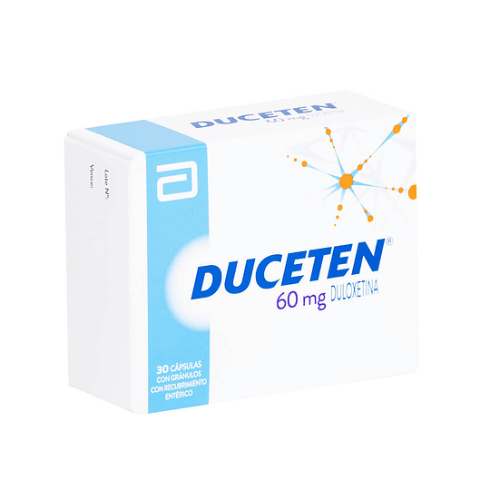 Duceten 60 mg 30 comprimidos