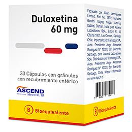 Duloxetina 60 mg 30 comprimidos
