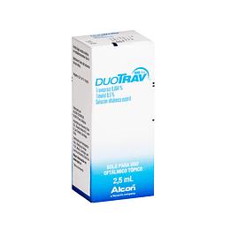 DuoTrav Back Free Solución oftálmica 2,5 ml
