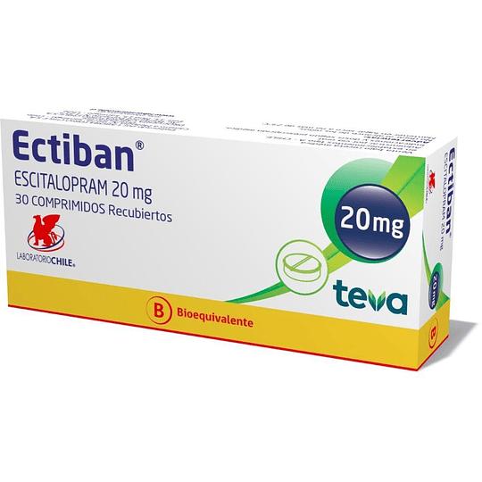 Ectiban 20 mg 30 comprimidos