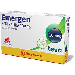 Emergen 100 mg 30 comprimidos