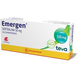 Emergen 50 mg 30 comprimidos