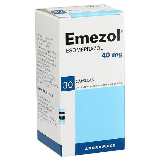 Emezol 40 mg 30 cápsulas