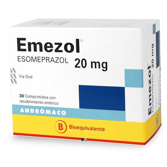 Emezol 20 mg 30 comprimidos