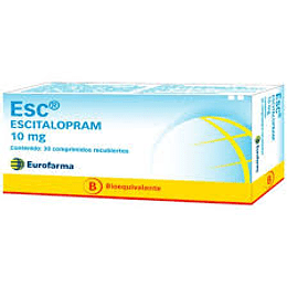 Esc 10 mg 30 comprimidos