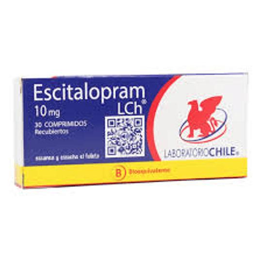 Escitalopram 10 mg 30 comprimidos