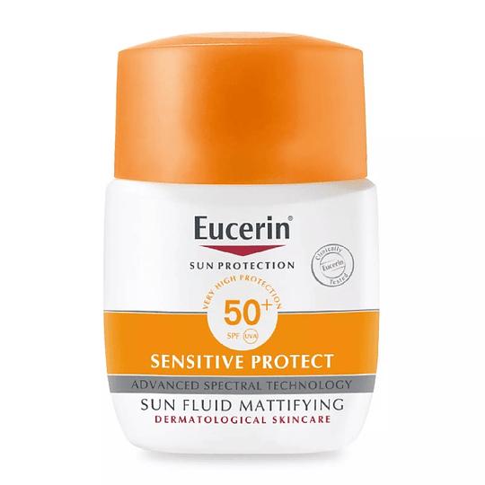Eucerin Sun Face Fluido mate SPF50+ 50 ml
