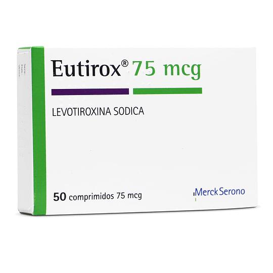 Eutirox 75 mcg 50 comprimidos