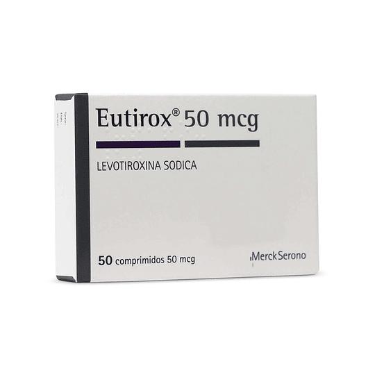 Eutirox 50 mcg 50 comprimidos