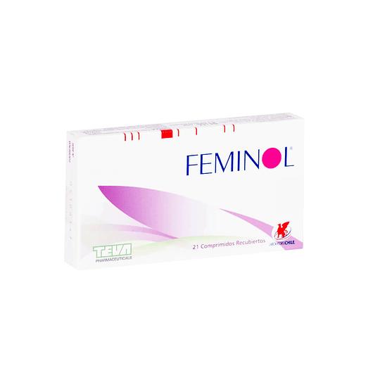 Feminol 21 comprimidos