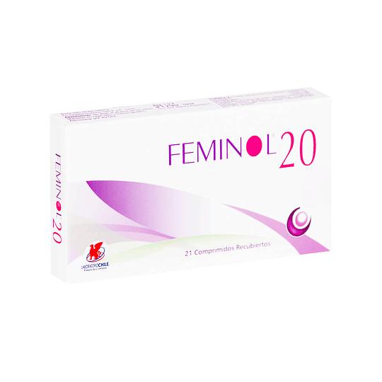 Feminol-20, 21 comprimidos
