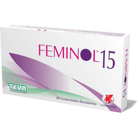 Feminol-15, 28 comprimidos