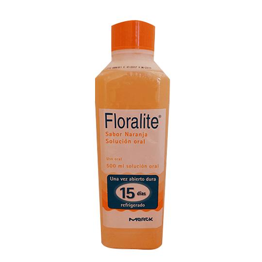 Floralite naranja frasco 500 ml