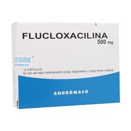 Flucloxacilina 500 mg 12 cápsulas