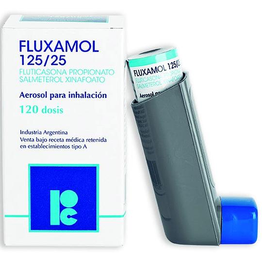 Fluxamol  125 / 25 mcg Inhalador 120 dosis