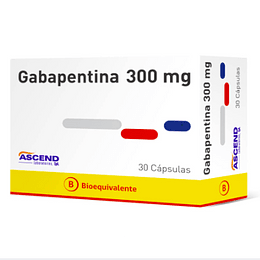Gabapentina 300 mg 30 capsulas
