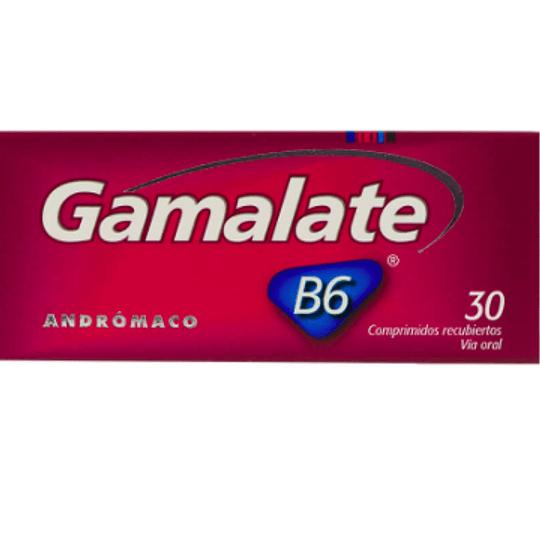 Gamalate B6 30 comprimidos