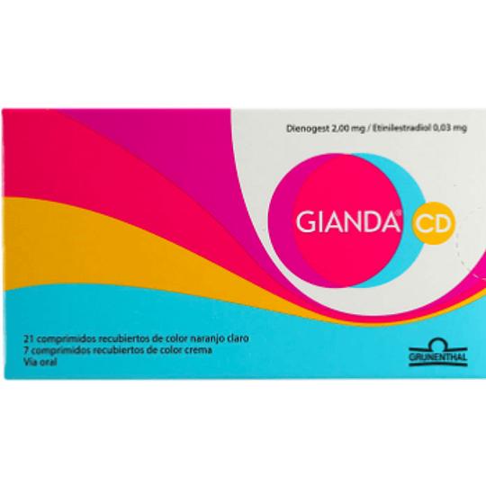 Gianda CD 28 comprimidos