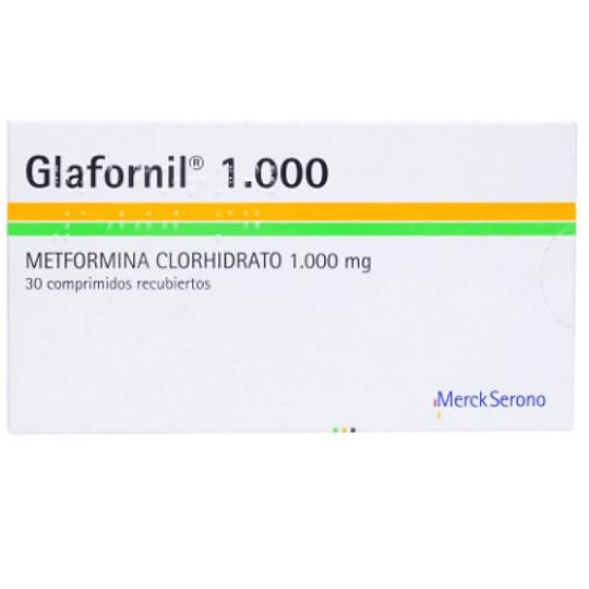 Glafornil 1000 mg 30 comprimidos