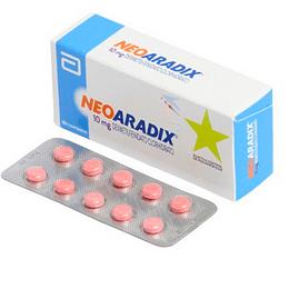 Neoaradix 10 mg 30 comprimidos