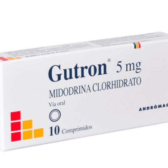 Gutrón 5 mg 10 comprimidos