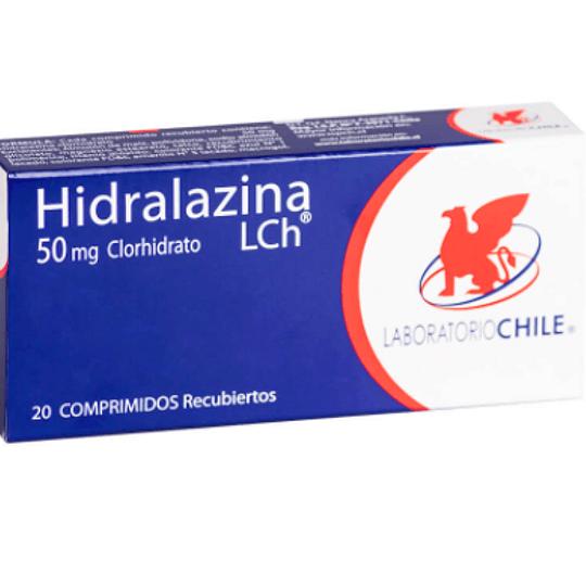 Hidralazina 50 mg 20 comprimidos