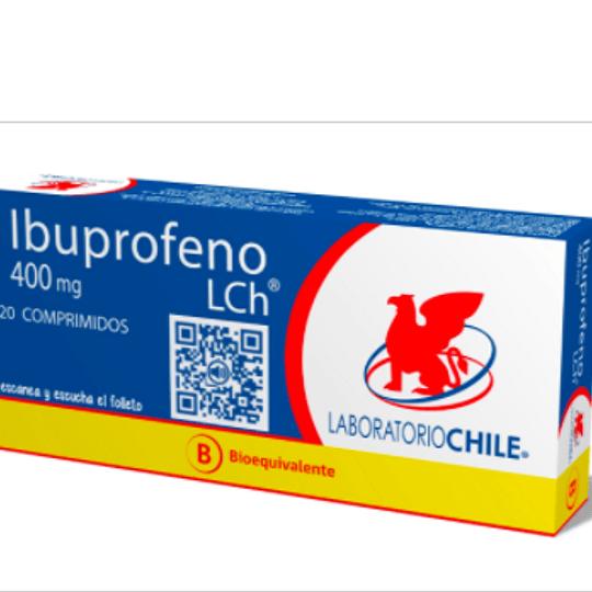 Ibuprofeno 400 mg 20 comprimidos