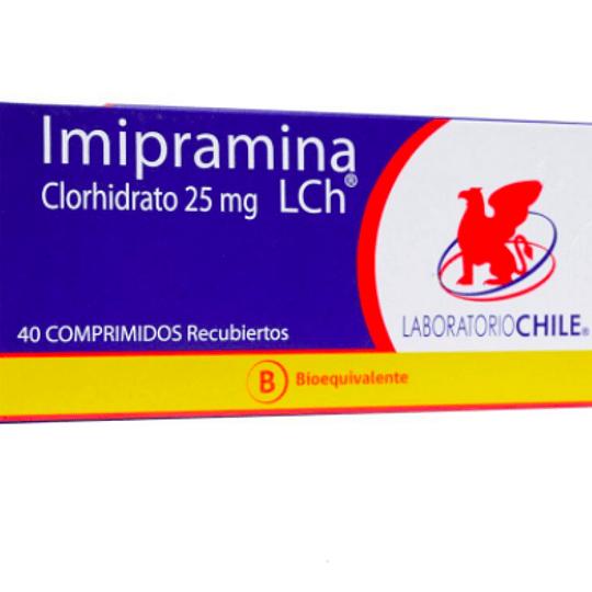 Imipramina 25 mg 40 comprimidos