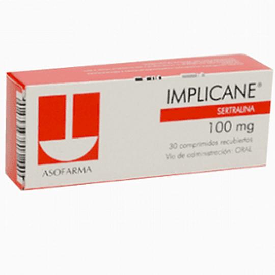 Implicane 100 mg 20 comprimidos