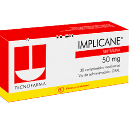 Implicane 50 mg 30 comprimidos