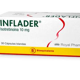 Inflader 10 mg 30 cápsulas blandas.