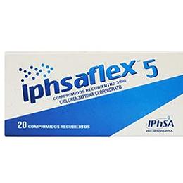 Iphsaflex 5 mg 20 comprimidos