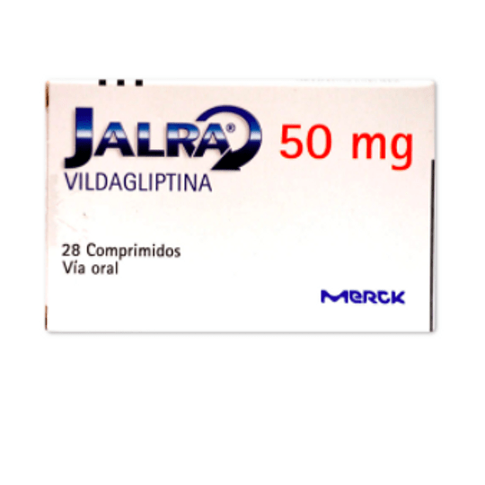 Jalra 50 mg 28 comprimidos