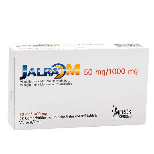 Jalra M 50 / 1000 mg 28 comprimidos