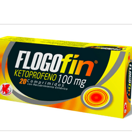 Flogofin 100 mg 20 comprimidos