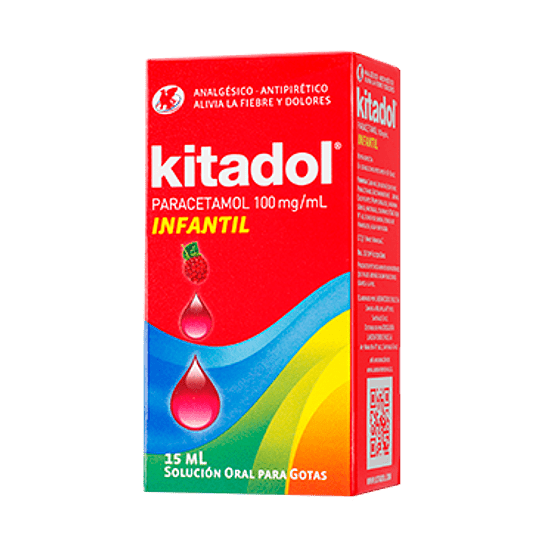 Kitadol 100 mg / ml gotas 15 ml