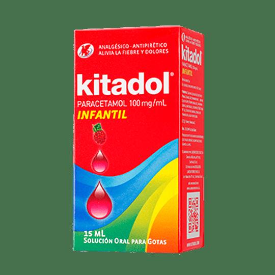 Kitadol 100 mg / ml gotas 15 ml