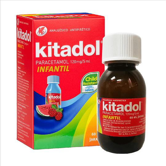 Kitadol Infantil 120 mg / 5 ml Jarabe 60 ml