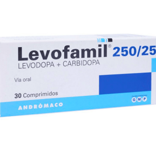 Levofamil 250 / 25 mg 30 comprimidos