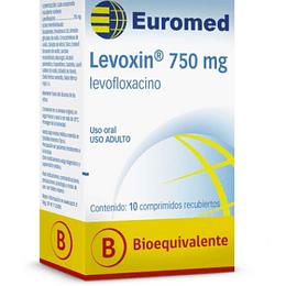 Levoxin 750 mg 10 comprimidos