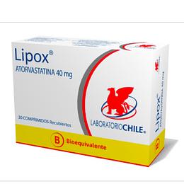 Lipox 40 mg 30 comprimidos