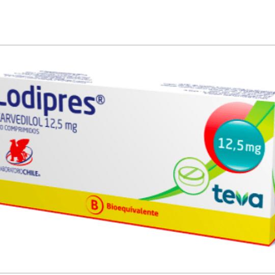 Lodipres 12,5 mg 30 comprimidos